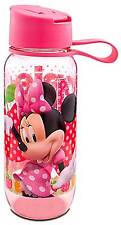 Disney Store Minnie Mouse Water Bottle Pink NEW