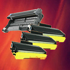 Toner Cartridge TN-580 & Drum DR-520 for Brother 4 Pack