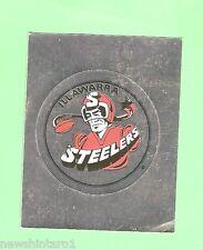 1993 SELECT RUGBY LEAGUE  STICKER - #127  LOGO, ILLAWARRA STEELERS