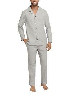 Sale SCHIESSER premium Herren Schlafanzug Pyjama Gr.54 NEU ehemaliger UVP 69,95€
