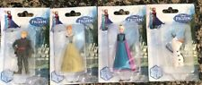 2014 DISNEY FROZEN Figurine Complete Set Of 4 (2 Sets Available) New By BHTB