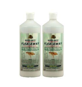 FLEA - AWAY Twin Pack 400G Shaker Bottles  - Flea Powder