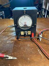 Vintage Marion Electrical Volt Meter Hs3 0 100