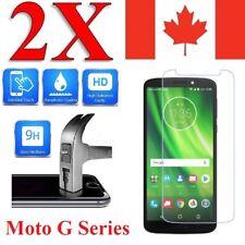 Premium Tempered Glass Screen Protector Cover for Motorola Moto (2 PACK)