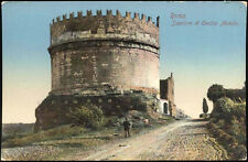 cartolina ROMA sepolcro di cecilia metella
