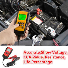 New LCD Automotive 12V Car Battery Load Tester auto Vehicle Battery Analyzer