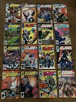 G.I. Joe V1 Huge 15 Issue lot  between #28 to #43 Copper Age-  Build Your Run