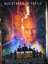STAR TREK FIRST CONTACT 1996 POSTER