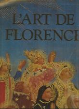 L'art de Florence, 2 volumes reliés sous coffret