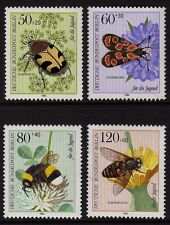 GERMANY MNH STAMP DEUTSCHE BUNDESPOST BERLIN 1984 POLLINATING INSECTS SG B674 -7