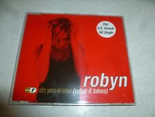 ROBYN - Do You Know (What It Takes) - 1997 European 5-track CD single