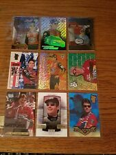 JEFF GORDON 49 CARD LOT NO DUPLICATES MISC YEARS AND MFG. LOTS OF INSERTS SEE PI