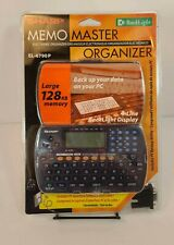 Sharp EL-6790P Memo Master Organizer 128KB Brand NEW