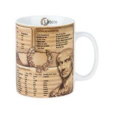 Wissensbecher - Latein - Kaffeebecher - Wissenschaftsbecher - NEU