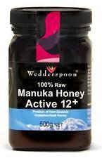 Wedderspoon RAW MANUKA miele Active 12 + 250g