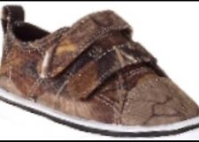 Toddler Boys Realtree Camo Canvas Sneakers Shoes Size 4 M