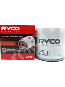 Ryco Oil Filter FOR FORD FALCON BF (Z516)