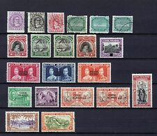 COOK ISLANDS 1893-1949  20 STAMPS