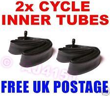 """Kids Childs bike / BMX 18"""" Inch Inner Tubes x2 FREEPOST"""