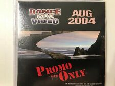 rare DVD sleeve PROMO ONLY dance Mix Video 2004 August EARTH WIND FIRE Amber