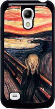Cover per Samsung Galaxy S4 mini con stampa L'urlo di Munch