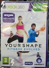Your Shape Fitness Evolved Xbox 360° NEUF NEW VERSION FRANÇAISE.