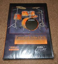A Survival Guide On How to Set Up And Tune Your Yamaha Drum Set (DVD, 2003) NEW