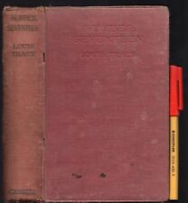 1916 1st Edition NUMBER SEVENTEEN Louis Tracy A MYSTERY of LONDON