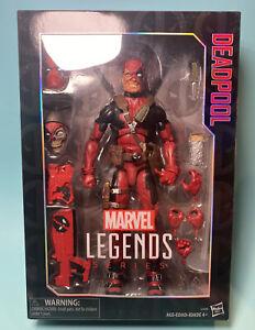 "2016 Hasbro Marvel Legends Series X-Force Deadpool 12"" Action Figure COMPLETE"