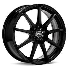 16x7 Enkei EDR9 5x100/114.3 + 38 Black Wheels (Set of 4)