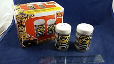 NEW NIB Despicable ME3 Kevin Stuart Minions Movie Exclusive Salt Pepper Shakers