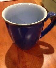 DENBY BLUE JETTY COFFEE MUG (aka Beaker or English Mug)