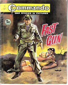COMMANDO COMIC - No 571   FAST GUN