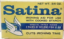 Satina Ironing Aid For Us With Cooked Starch, Unopened Package, unused