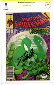 """STAN LEE Signed Autographed """"Amazing SPIDER-MAN"""" Marvel Comic Book BAS CBCS"""