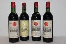 Bordeaux grands vins lot de 4 Bouteilles Années 3 X 1966 + 1 X 1979