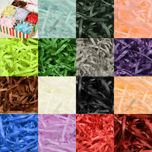 2Bags GIFT Box Paper Raffia Paper Confetti Crinkle  DIY Supplies Party Home