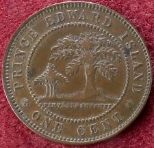 Canada Prince Edward Island 1 Cent 1871 (C2210)