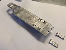 Ulrich Ho Scale 1/87 Tandem Axle Equipment Trailer With Ramps All Metal