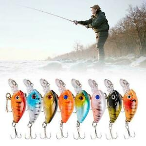Fishing Lure Hard Bait Topwater Bass Fly Fishing Accessories X3N4