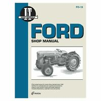 Service Manual For Ford New Holland JUBILEE, NAA Tractor FO-19