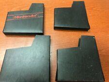 Lot of 4 Nintendo NES Cartridge Dust Covers