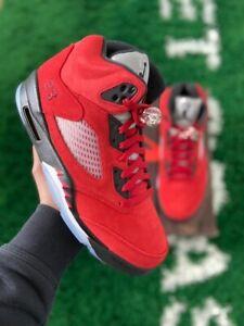 """Jordan 5 Retro """"Raging Bull"""" 2021 - Brand New - Sizes 10, & 10.5 - DD0587600"""
