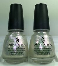 China Glaze Nail Polish Travel In Colour Iridescent Shimmer Top Coat 0.325oz