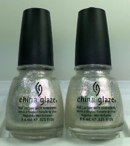 China Glaze Nail Polish Travel In Colour Iridescent Shimmer Top Coat 0.325oz