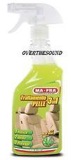 Trattamento 3 in 1 Pelle Ma-Fra pulitore sedili auto pulisce nutre idrata MAFRA