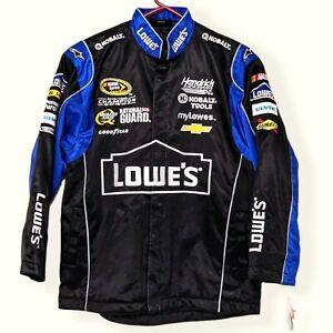 NWT Lowes Racing NASCAR Series Jimmy Johnson 2013 Pit Jacket Women Size Medium