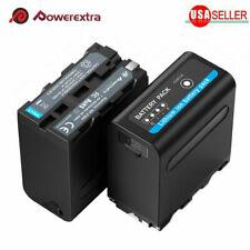 2Pack 7.4V Li-ion Battery For Sony NP-F970 NP-F975 NP-F960 NP-F950 Camcorder NEW