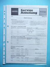 Service Manual for Grundig Hit Boy 310 ,ORIGINAL