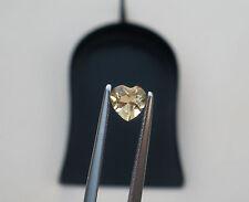 Citrine Heart Natural Loose Gem 5mm